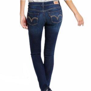 Levi's 524 Too Superlow Jeans Size 7 Short